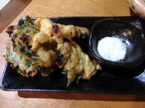 25納豆と大葉の天ぷら