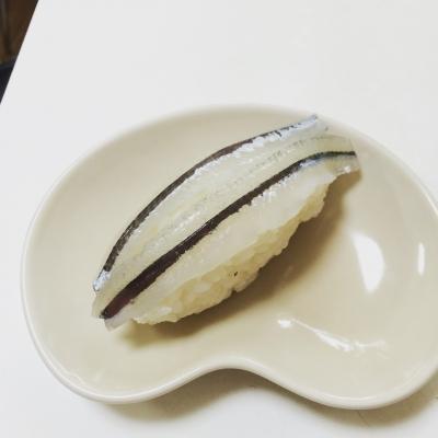 サヨリの握り寿司