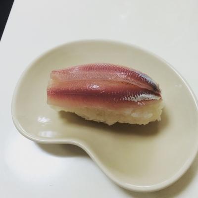 ウルメイワシの握り寿司
