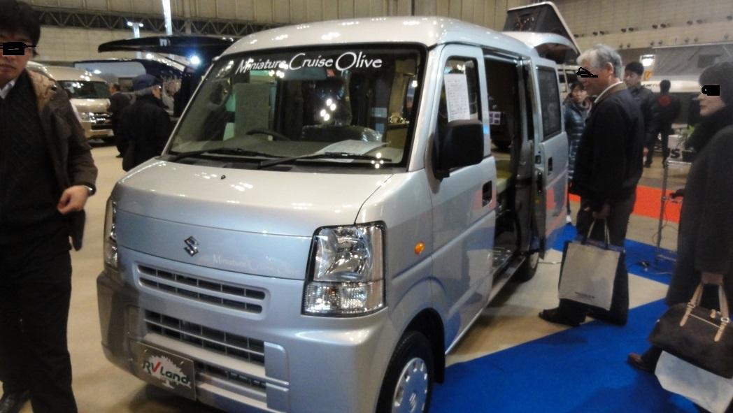 キャンピングカー・AAA軽キャンピングカー 1A.