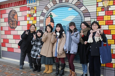 小樽商大 シャッターアート 2015-02-26005