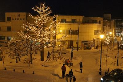 イルミネーション 点灯式 余市駅 リタロード 2014年12月23日 048