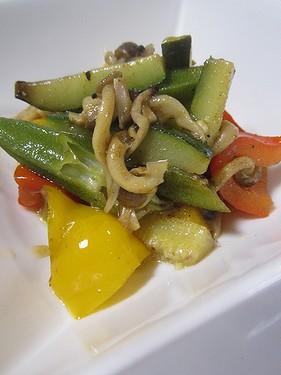 20150610 夏野菜のサブジ