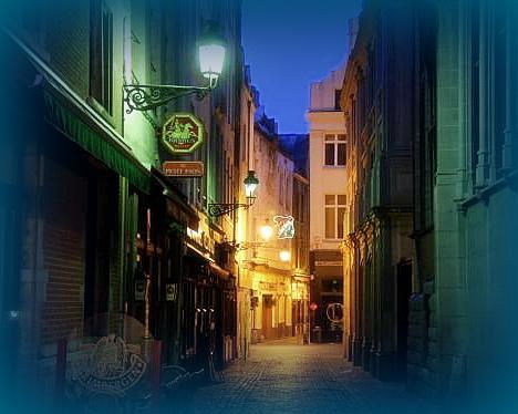 ベルギーの街