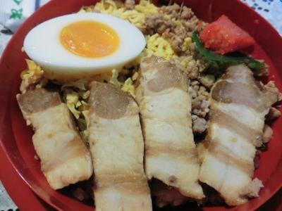 豚角丼 (2)