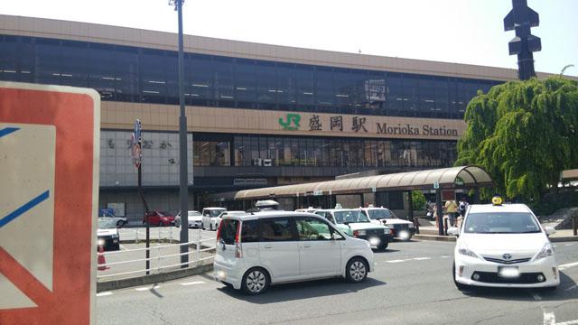 盛岡駅_150502
