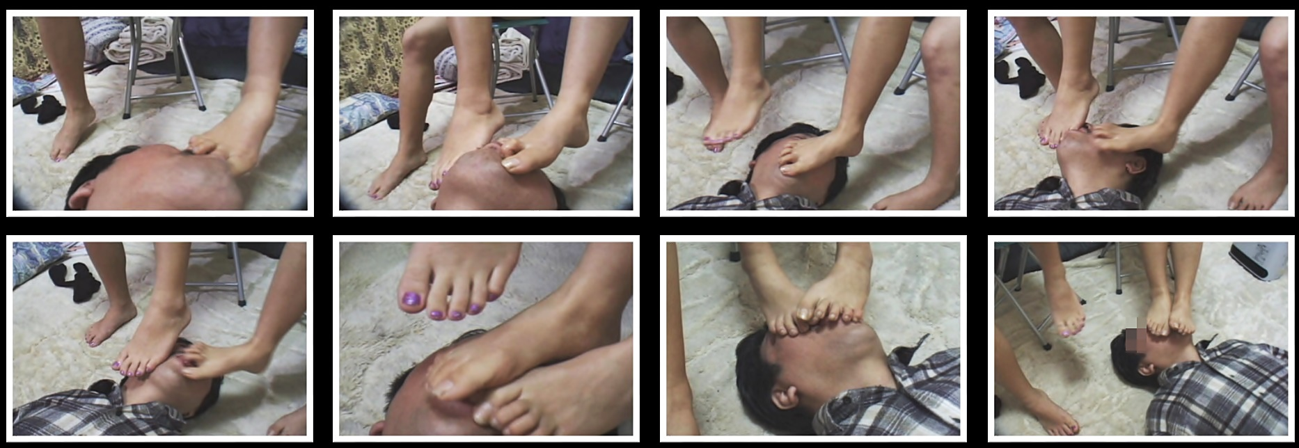 女の子の足の裏1