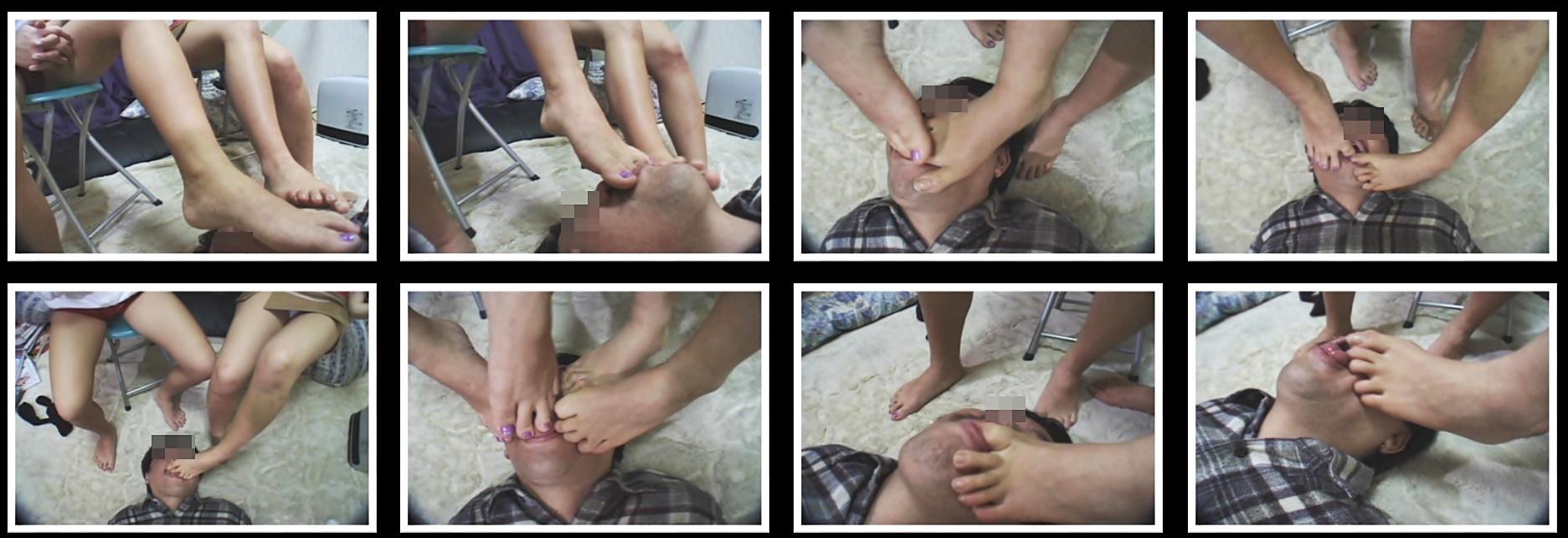 女の子の足の裏2