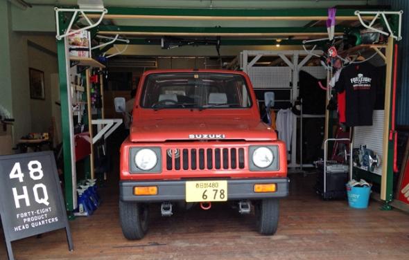 suzuki jimny garage