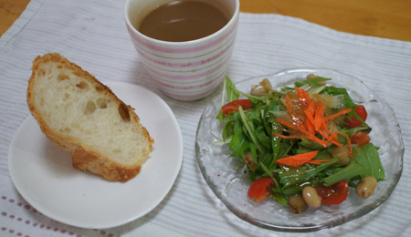 2月のある日朝ごパン