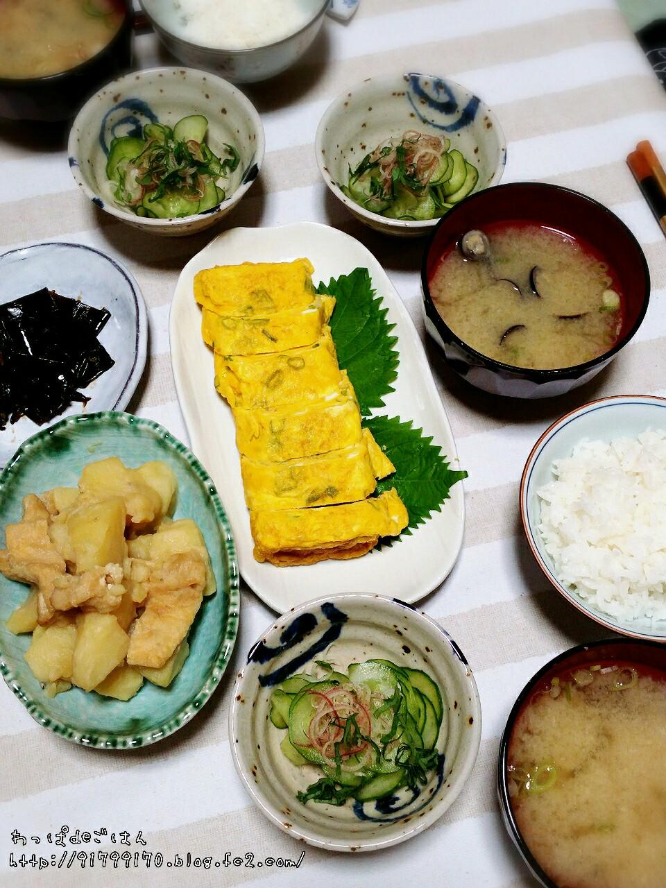 京都のお母さんの朝ごはん