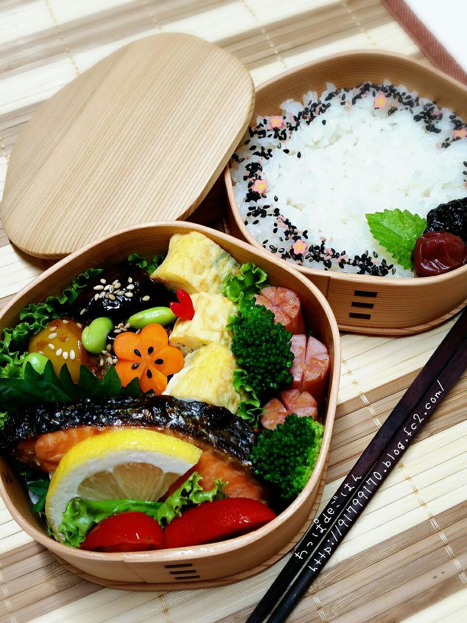 牛バラと夏野菜の甘味噌弁当