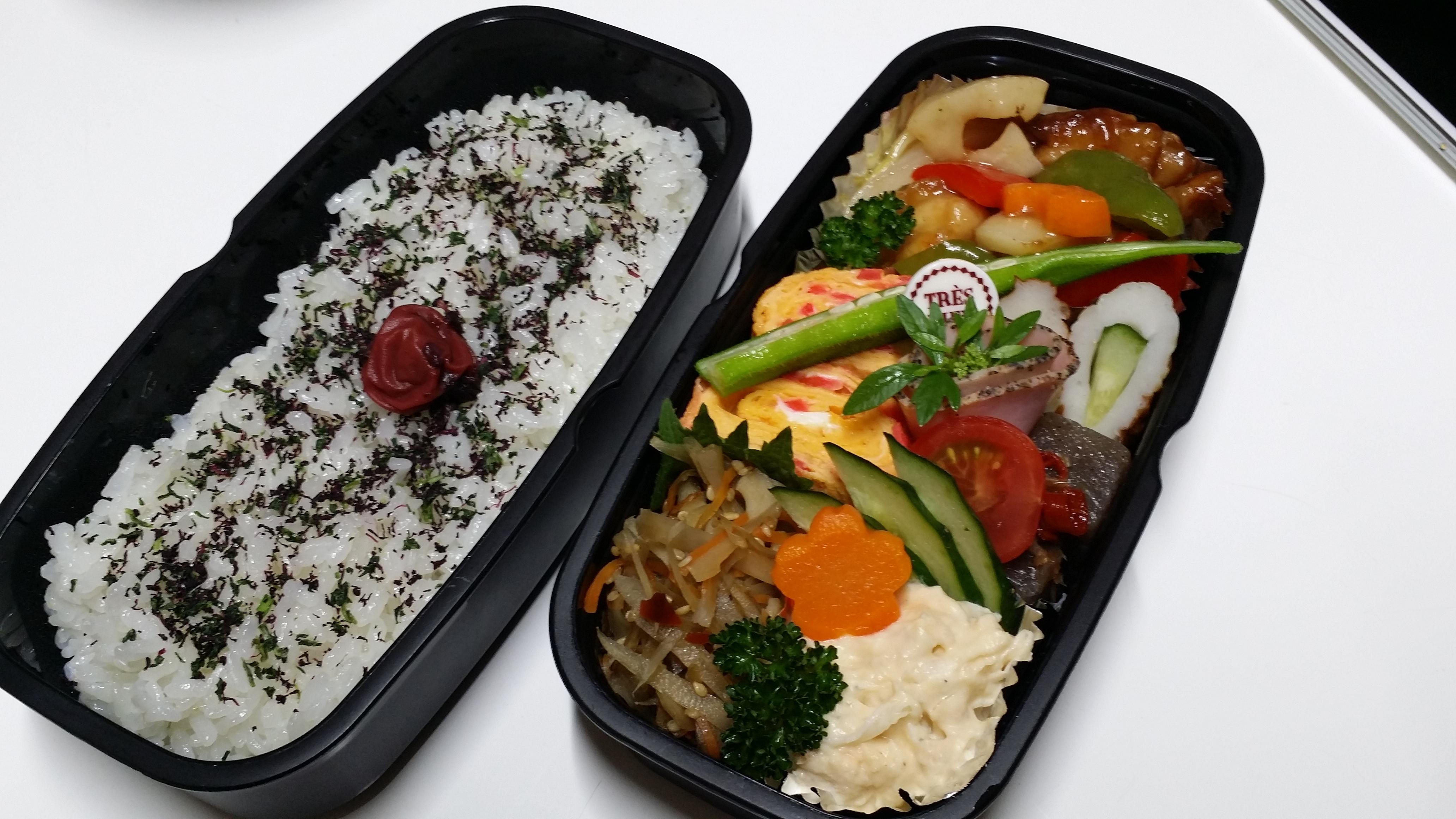 プラスチック弁当