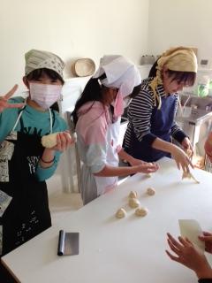 春休みパン教室