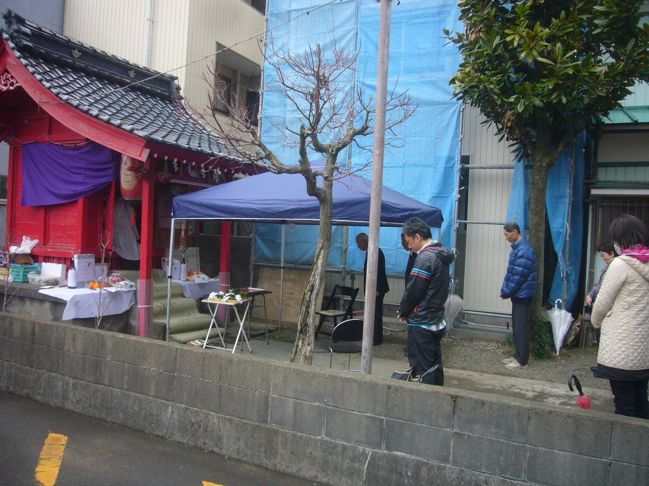 稲荷例大祭参加 H27.3.29撮影