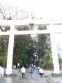 H27.4.15雄山神社前立社鳥居@IMG_2667