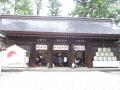 H27.4.15雄山神社前立社拝殿@IMG_2673