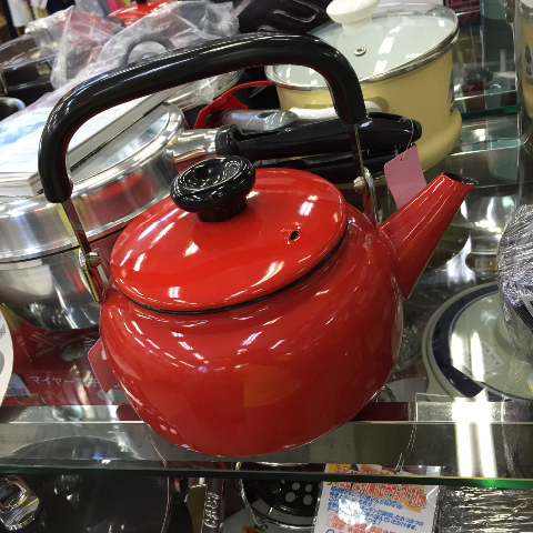 やかんヤカン鍋調理器具買取千葉リサイクル愛品館