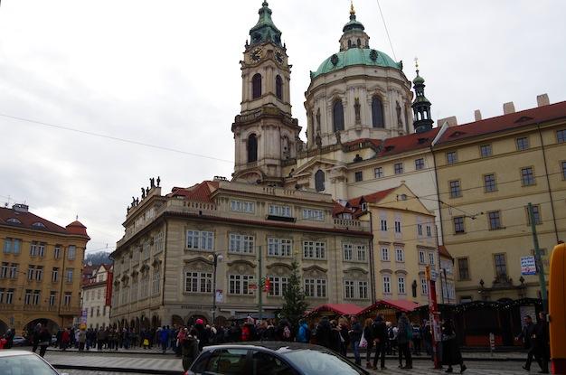 聖ミクラーシュ教会の塔