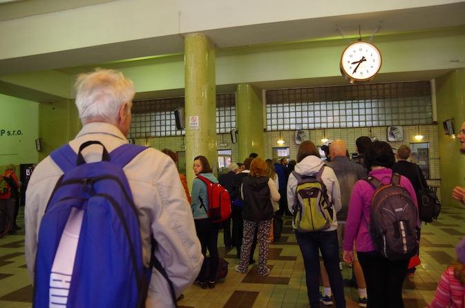 マサリク駅10