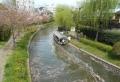中書島の濠川