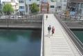 中村川にかかる亀の橋