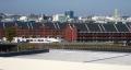 県庁屋上から見た赤レンガ倉庫