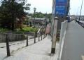 妙貫坂(右は小金井街道)