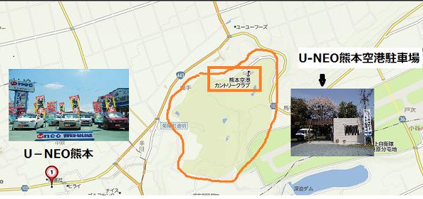 店舗-ゴルフ場地図1