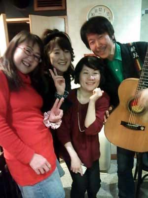 川中さんと記念写真
