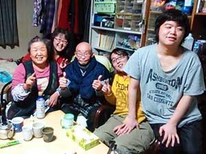2015お正月家族写真