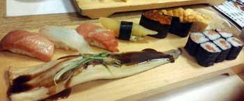 浅草寿司屋ランチ