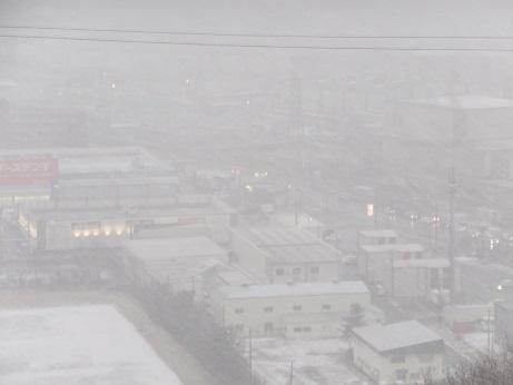 3月の雪3