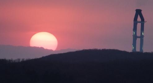 22日の夕陽4