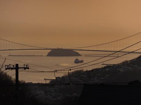大黒島と船
