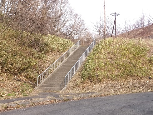 八丁平の階段1