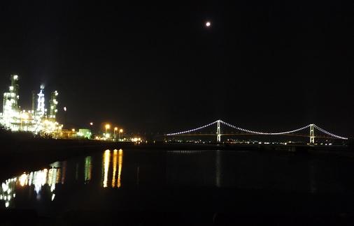 皆既月食の夜4