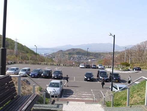地球岬の駐車場1