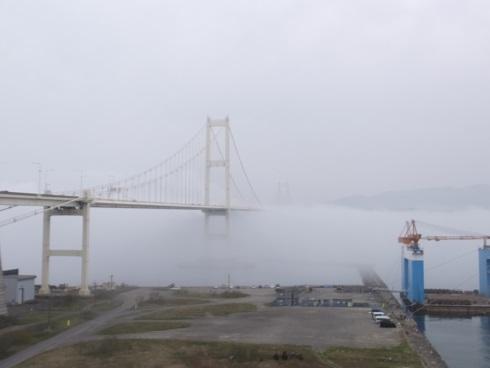 海霧の室蘭港2