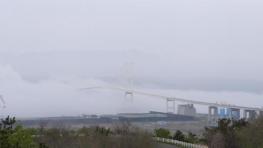 海霧の室蘭港4