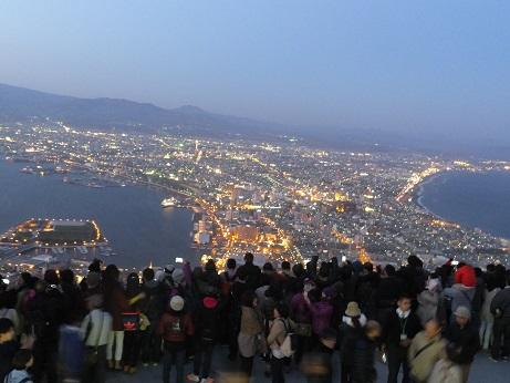 函館山夜景2
