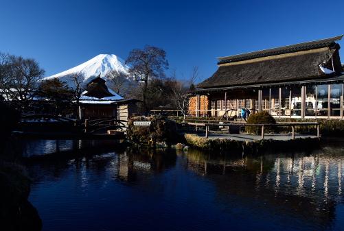 DSC_2412忍野より霊峰富士を望む