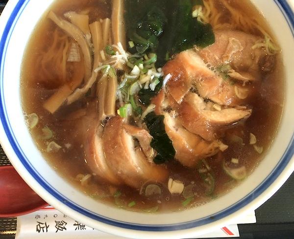栄楽飯店 鶏ソバ