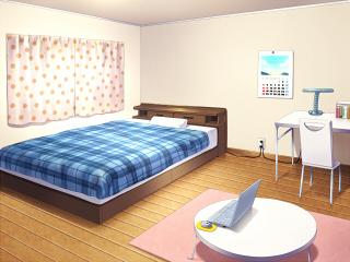 涼音の部屋朝