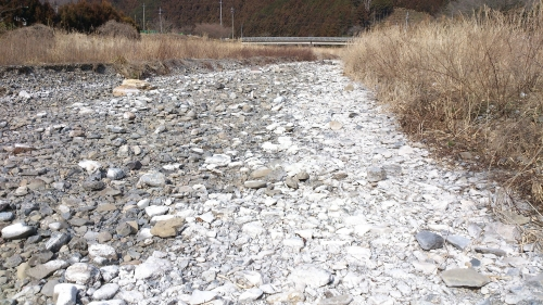 冬の川 (3)