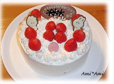 ささこ9歳誕生日ケーキ_R