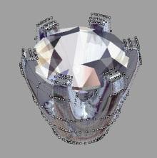 ジュエリーCADデザインのアミュールです