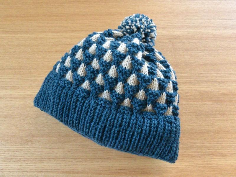ニット帽子1