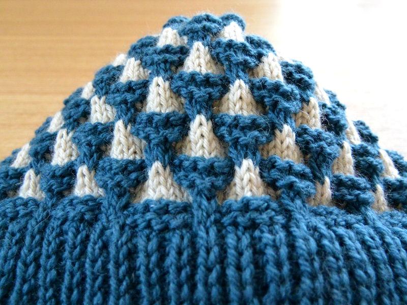 ニット帽子2
