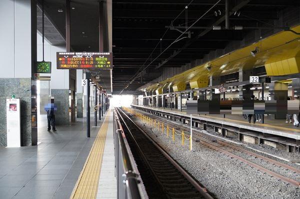 京都駅31番線
